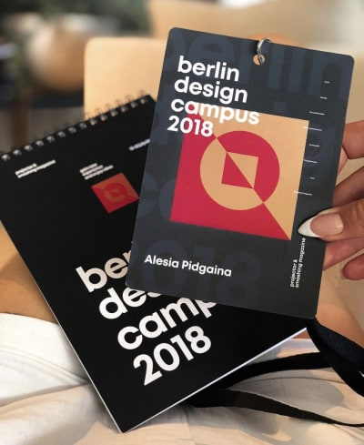Branding and visuals for Berlin Design Campus, designed by Prjctr Design School in Kiev, Ukraine.
