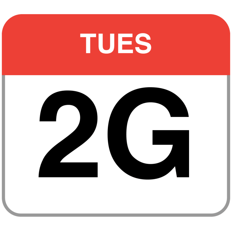 Introducing the slowest day of the week. Facebook has introduced 2G Tuesdays to increase visibility and sensitivity of slow connections. (Image source)