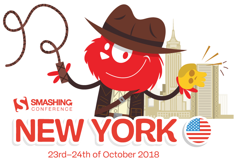 New Treasures In Front-End And UX — Meet SmashingConf NYC 2018