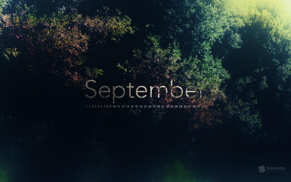 Smashing Desktop Wallpaper - September 2012