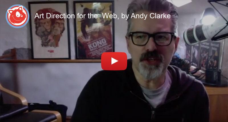 Andy Clarke is running a webinar on Art Direction.