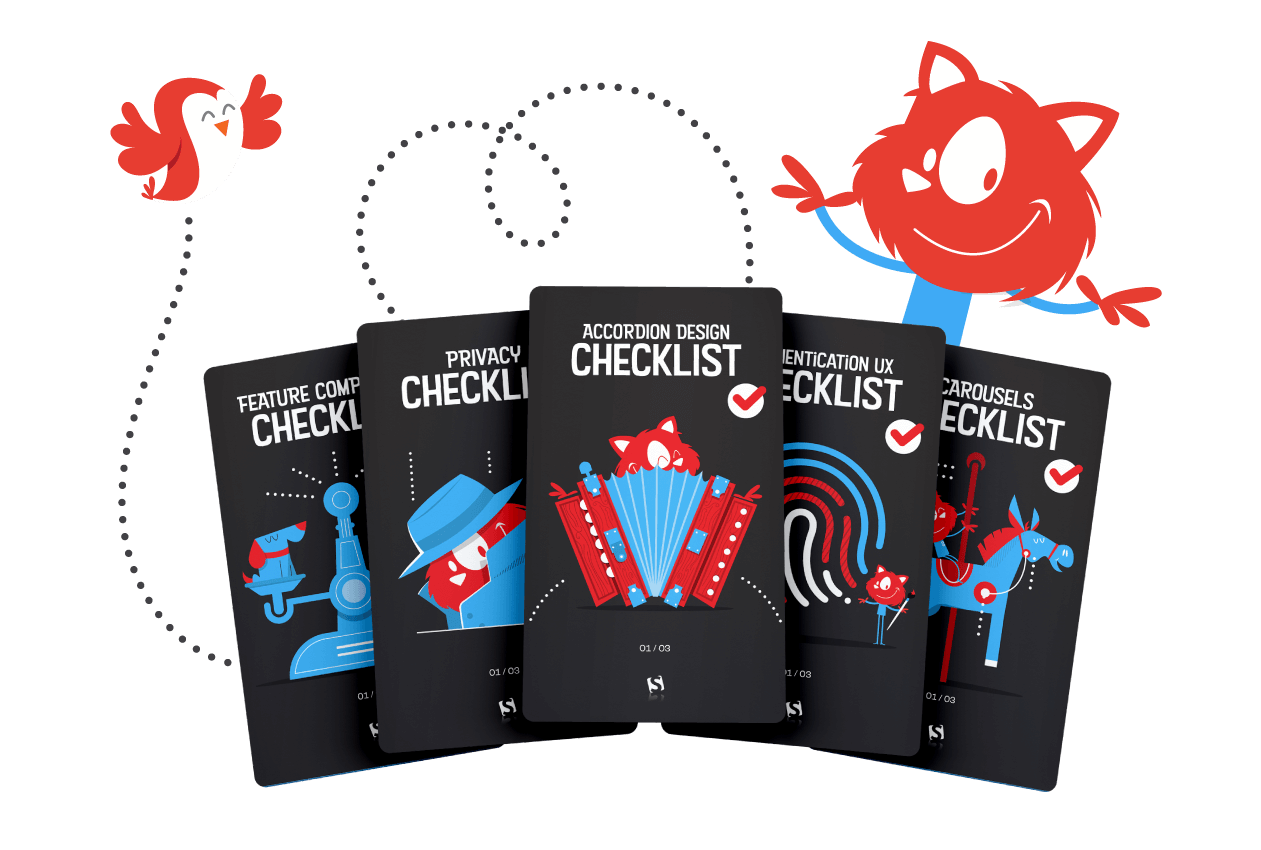 A look inside the card deck.