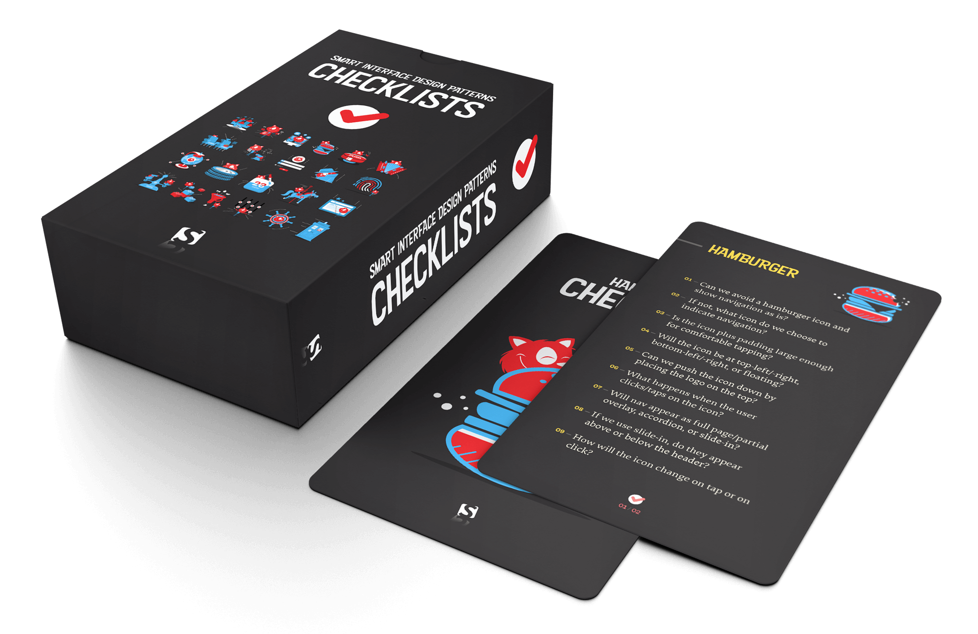 Smart Interface Design Patterns Checklist Cards
