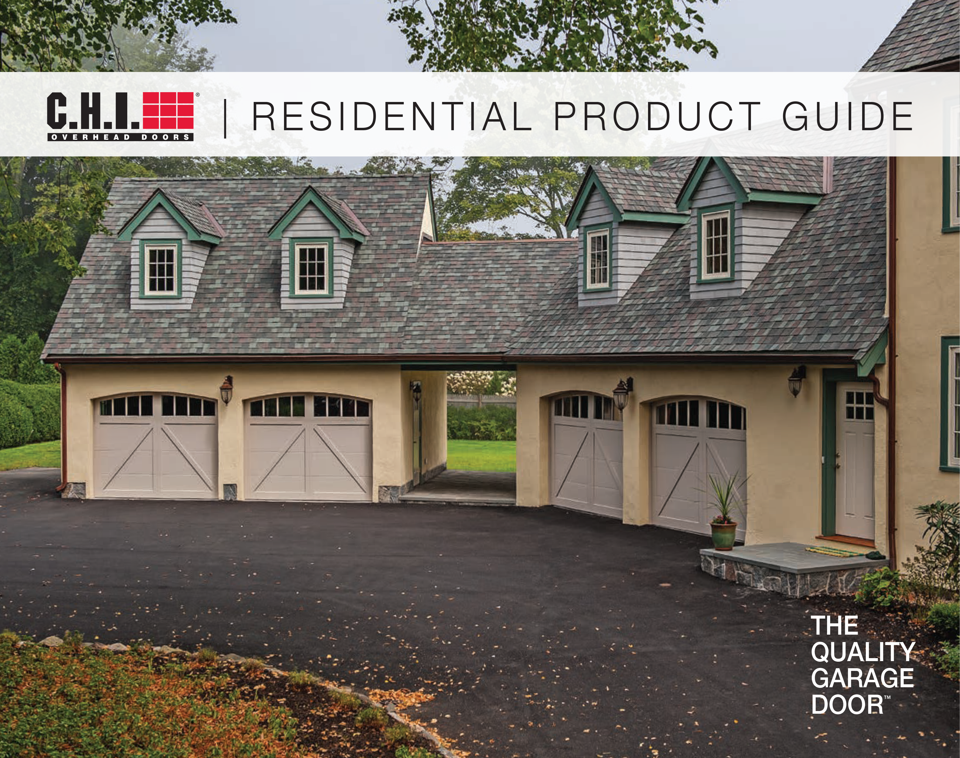 CHI Overhead Doors Residential Product Guide