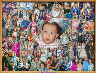 Birthday Photo Gifts Collages Digital Art