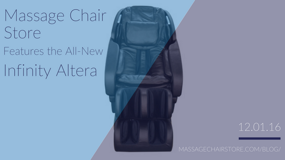 Massage Chair Store Features the All-New Infinity Altera Massage Chair