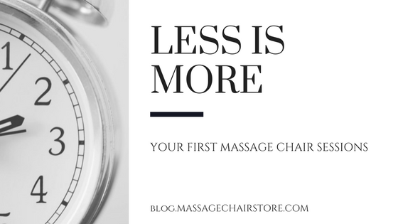 How Long Should You Sit in Your Massage Chair?