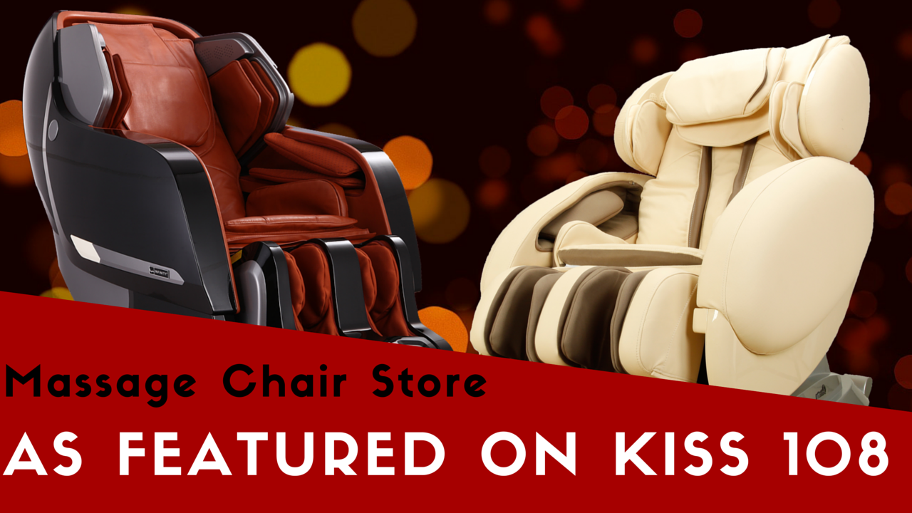 Massage Chair Store Featured on Kiss 108
