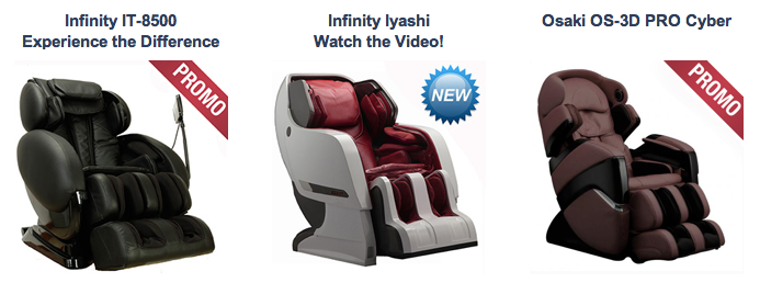 Best Selling Massage Chairs