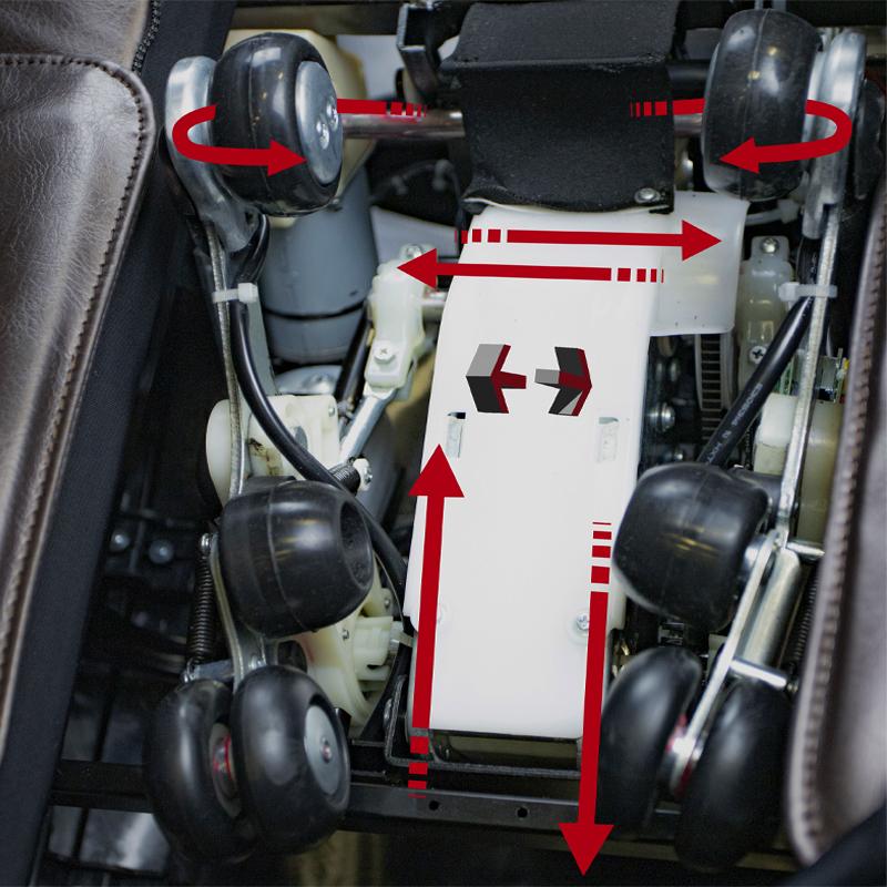 Super-advanced 3D/4D Back Mechanism Technology photo