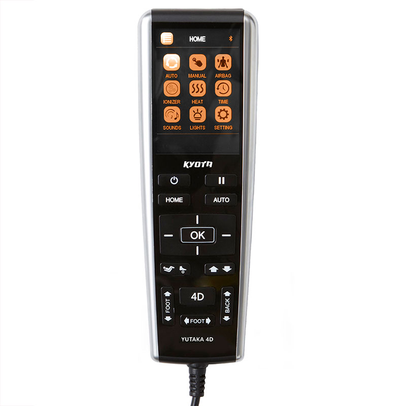 Premium Leather-backed Intuitive Remote Control photo