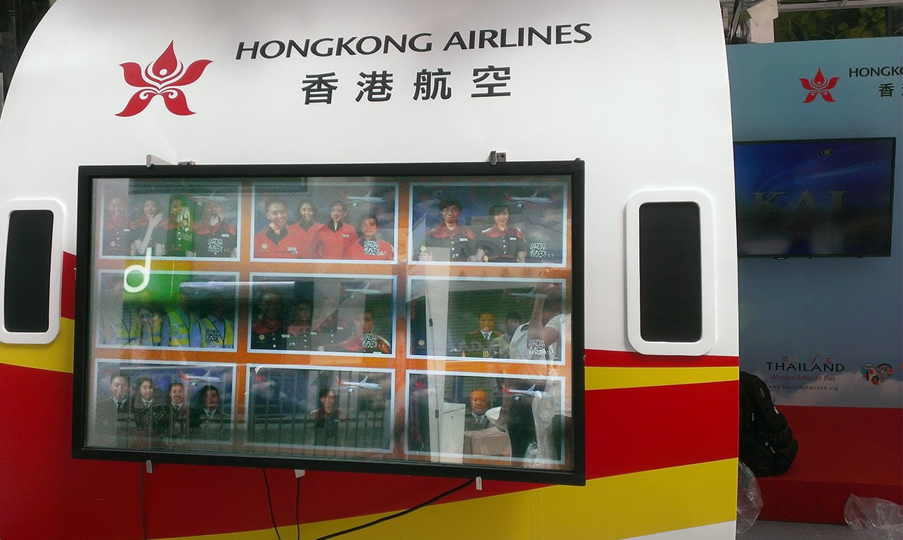 Hong Kong Airlines banner
