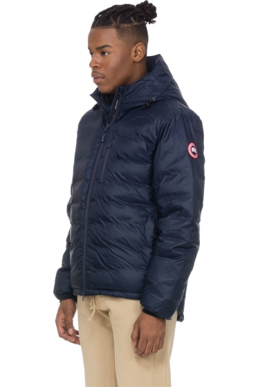 cb6f264957a4 ... SHOP Men - CANADA GOOSE Lodge Hoodie - Admiral Blue - Coats Jackets