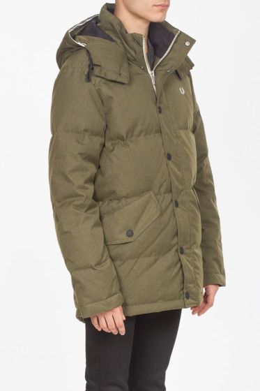 Fred perry parka forest night