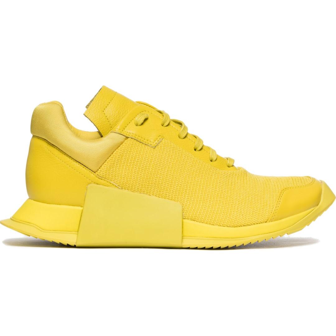 Rick Owens Level Runner Low II - Neon Yellow
