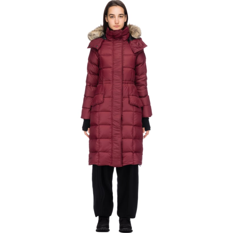 714337f22114 Canada Goose  Black Label Lunenburg Parka - Bordeaux
