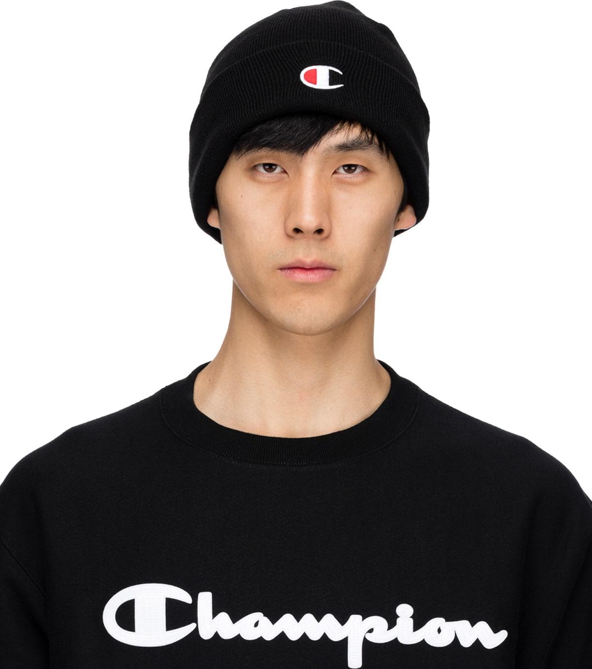 Champion  Small C Beanie - Black  99ce90e5e7a9