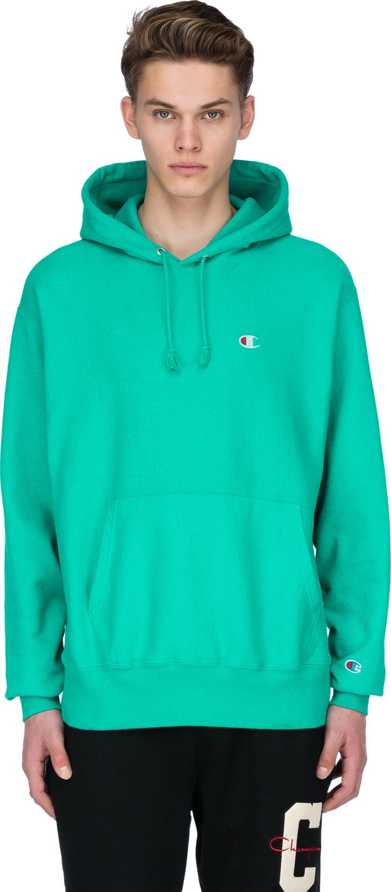 94f52841e1f4 Champion  Reverse Weave Pigment Dyed Pullover Hoodie - Vivid Teal
