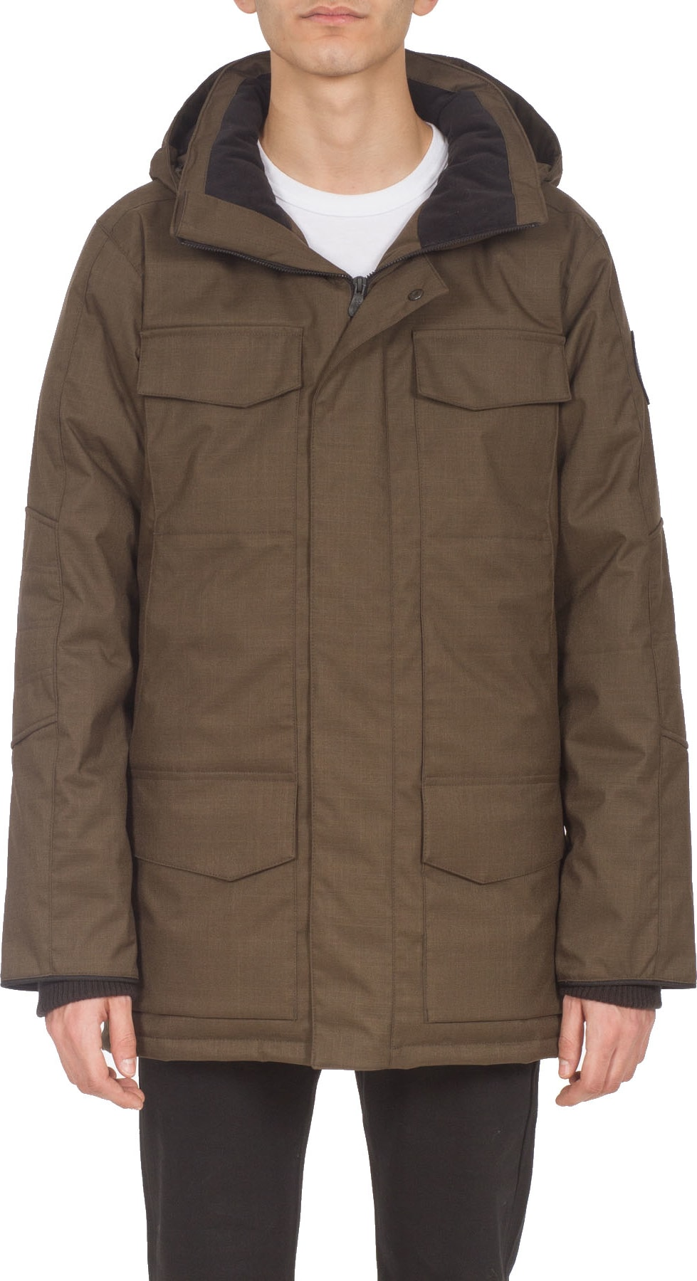 f7dc4f761 Canada Goose - Black Label Windermere Coat - Moss