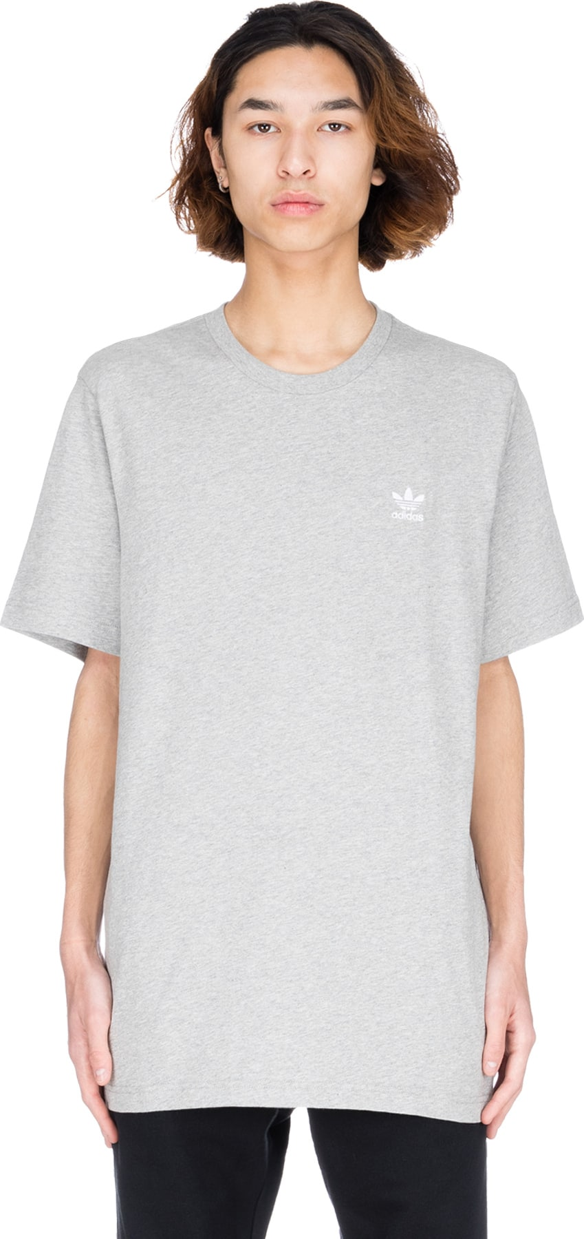 9297f6f0a adidas Originals - Essential T-Shirt - Medium Grey Heather