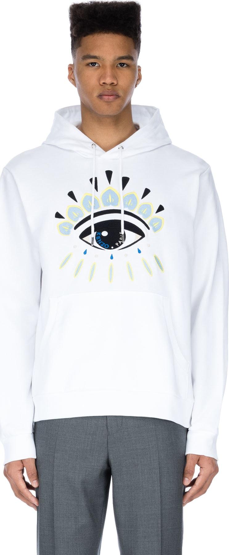 cb11bacc Kenzo - Eye Hoodie - White