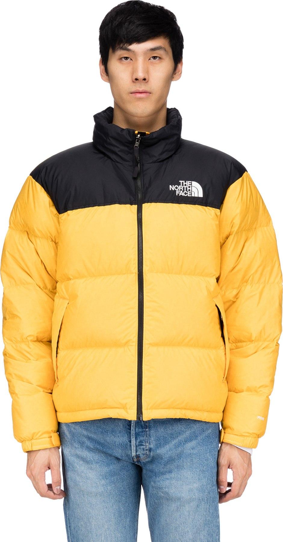ee1f7267a The North Face - 1996 Retro Nuptse Jacket - TNF Yellow