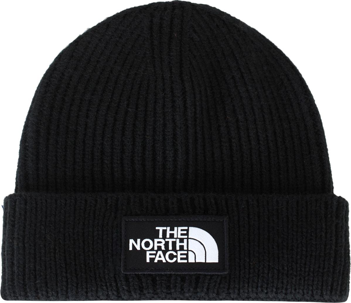 e5db6d651 The North Face - Logo Box Cuffed Beanie - Black