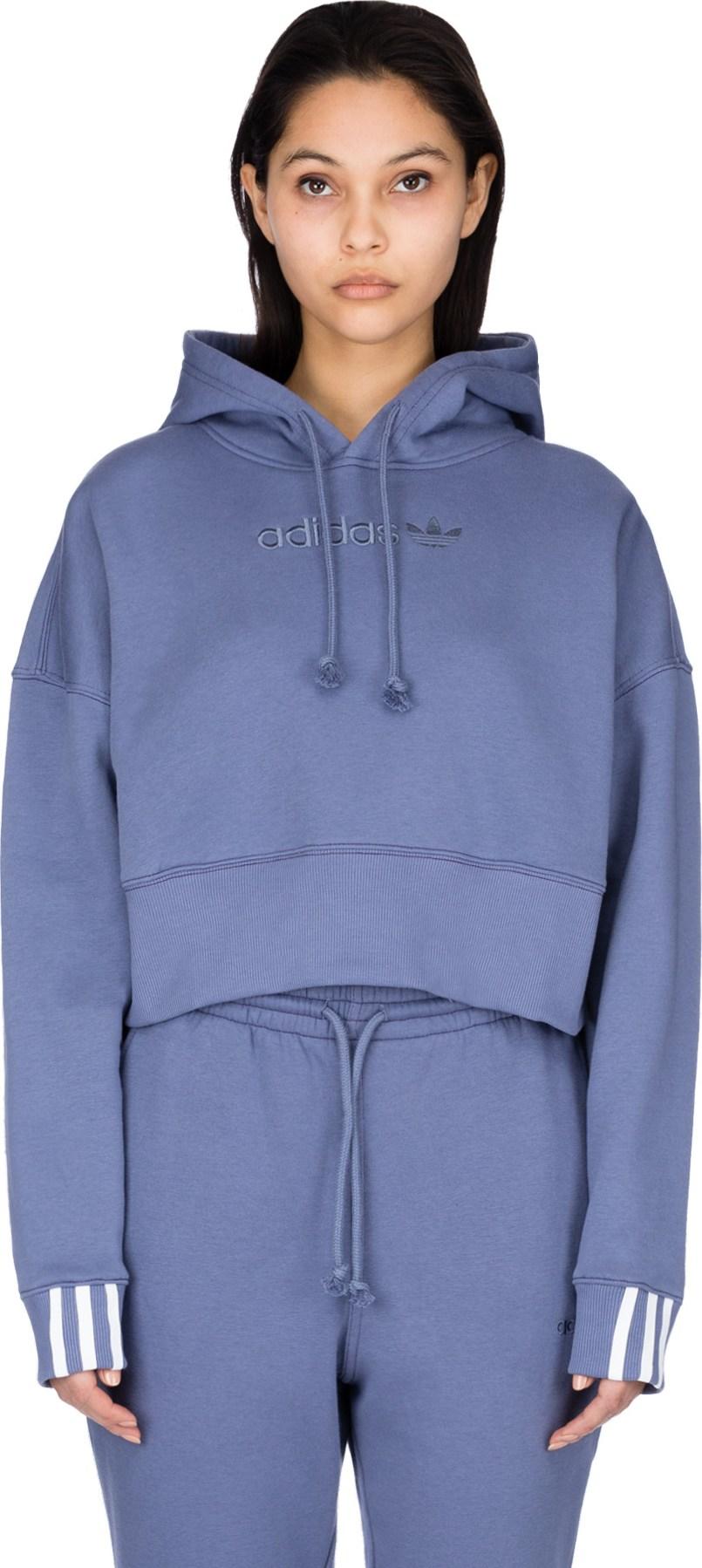 503138f3ef adidas Originals: Coeeze Cropped Hoodie - Raw Indigo   influenceu