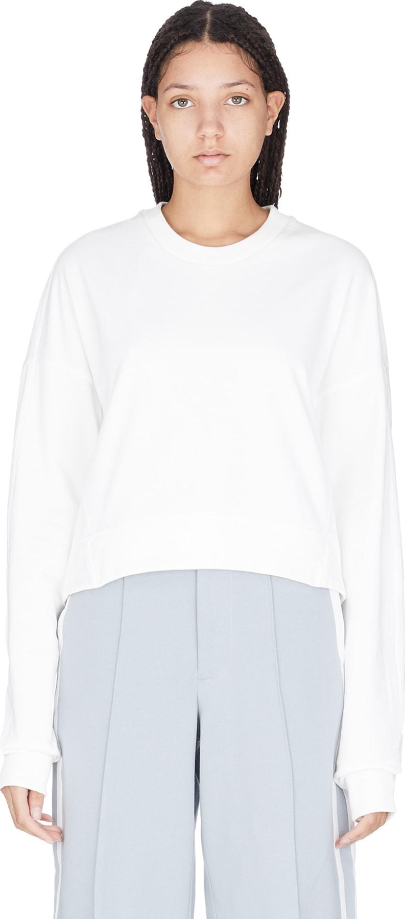 4ee2825d1b1 Y-3: Yohji Love Pullover - Core White | influenceu