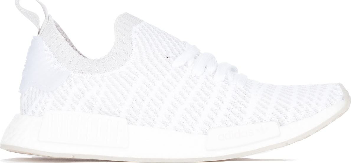 best sneakers 90204 14c8b adidas Originals  NMD R1 STLT Primeknit - Cloud White Grey Solar ...