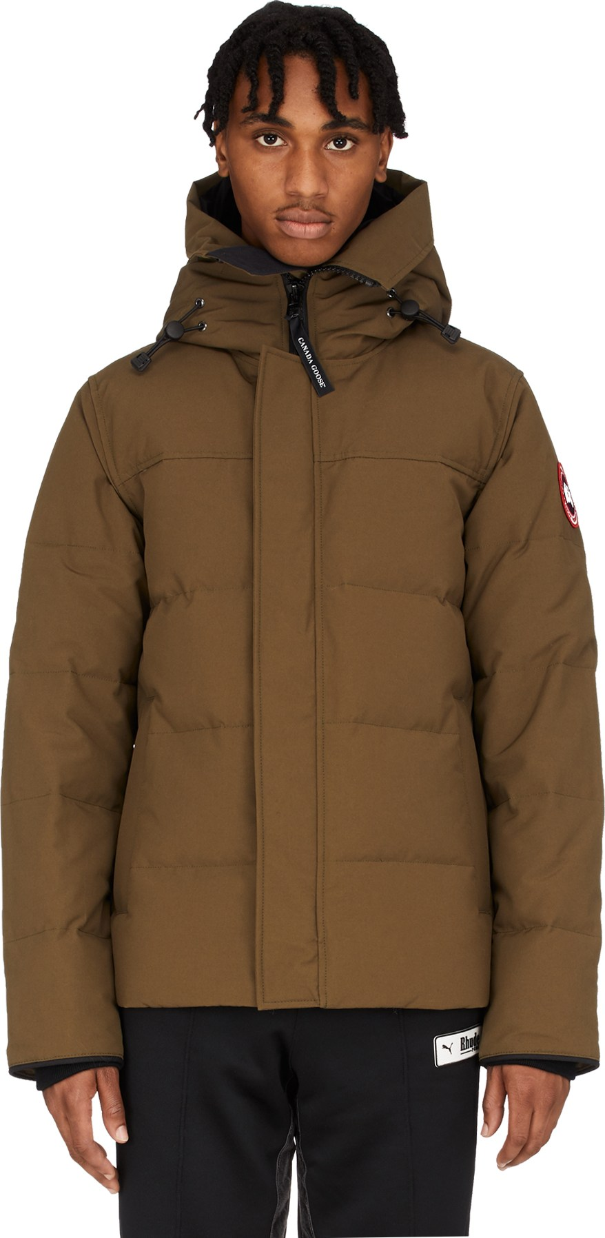 canada goose parka military