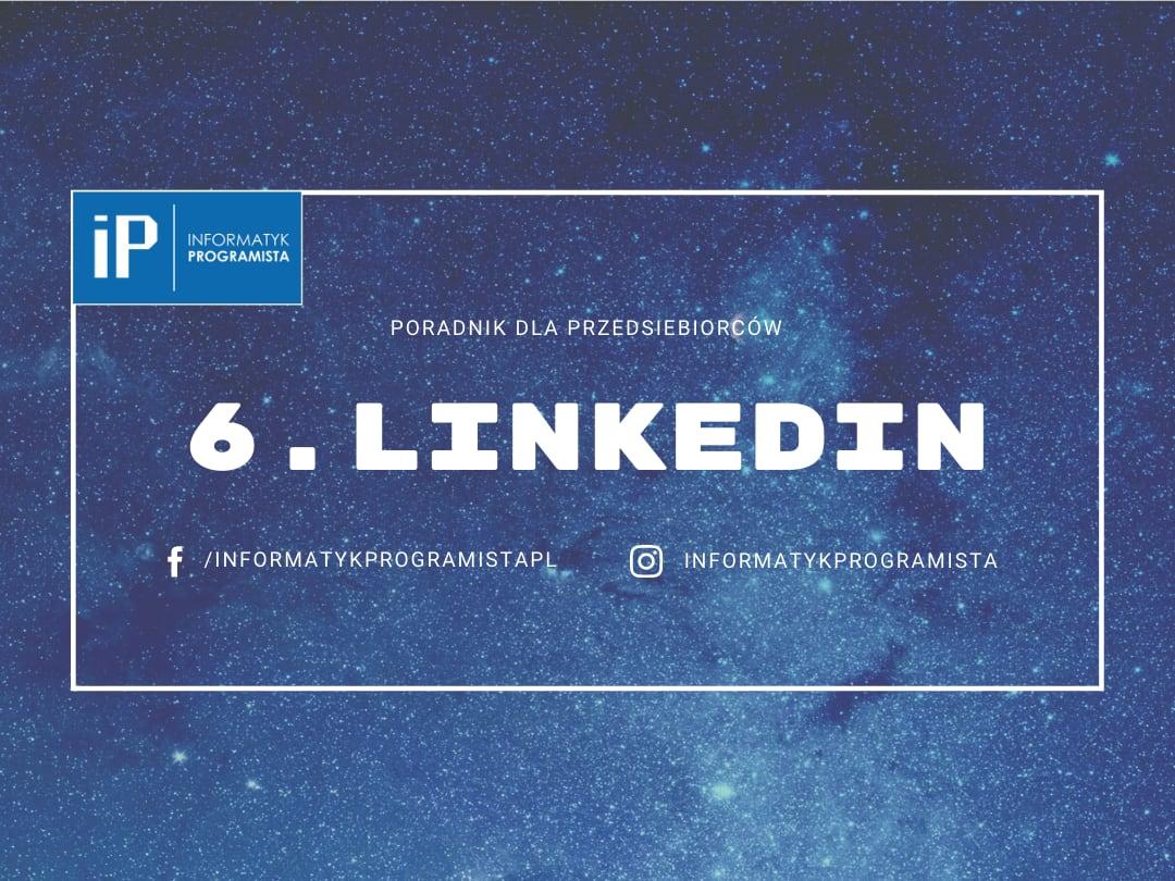 Linkedin - Poradnik dla przedsiebiorców