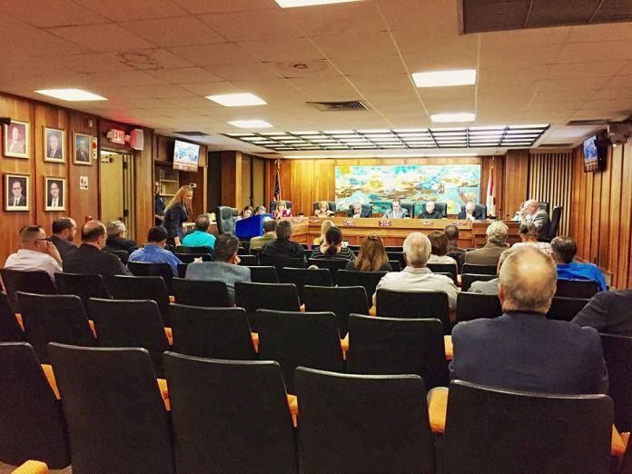 Commission Meeting in Sweetwater