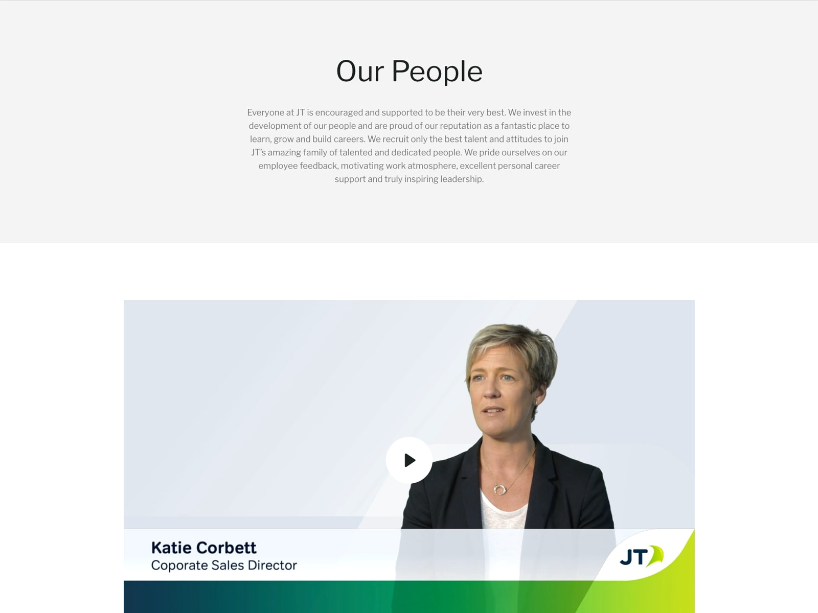 Careers Homepage