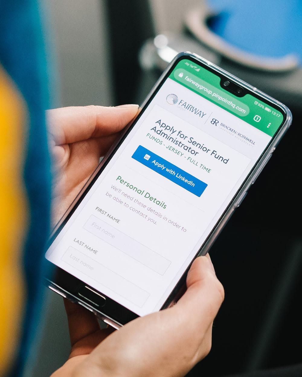 Mobile Careers Website