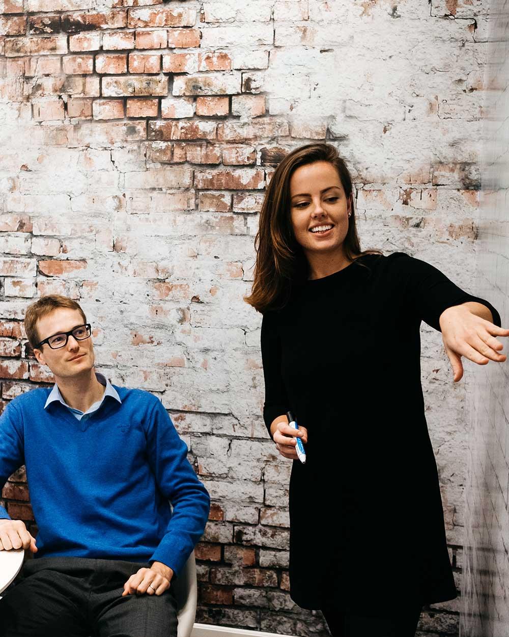 Hiring team planning recruitment workflow