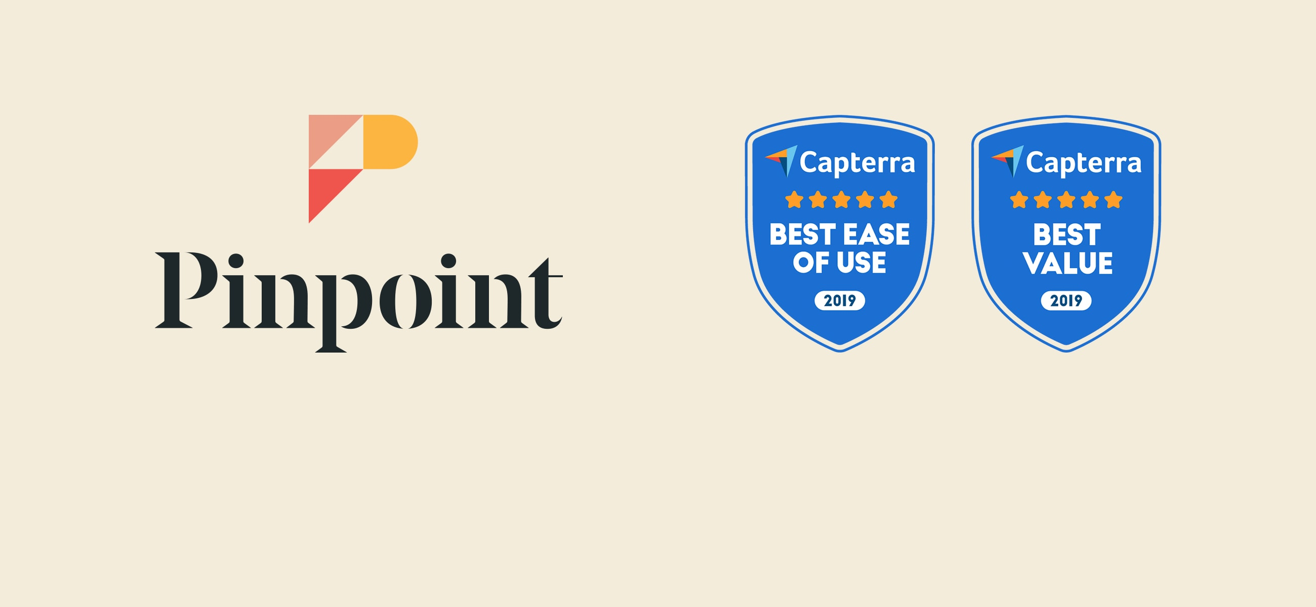 Pinpoint Capterra Awards