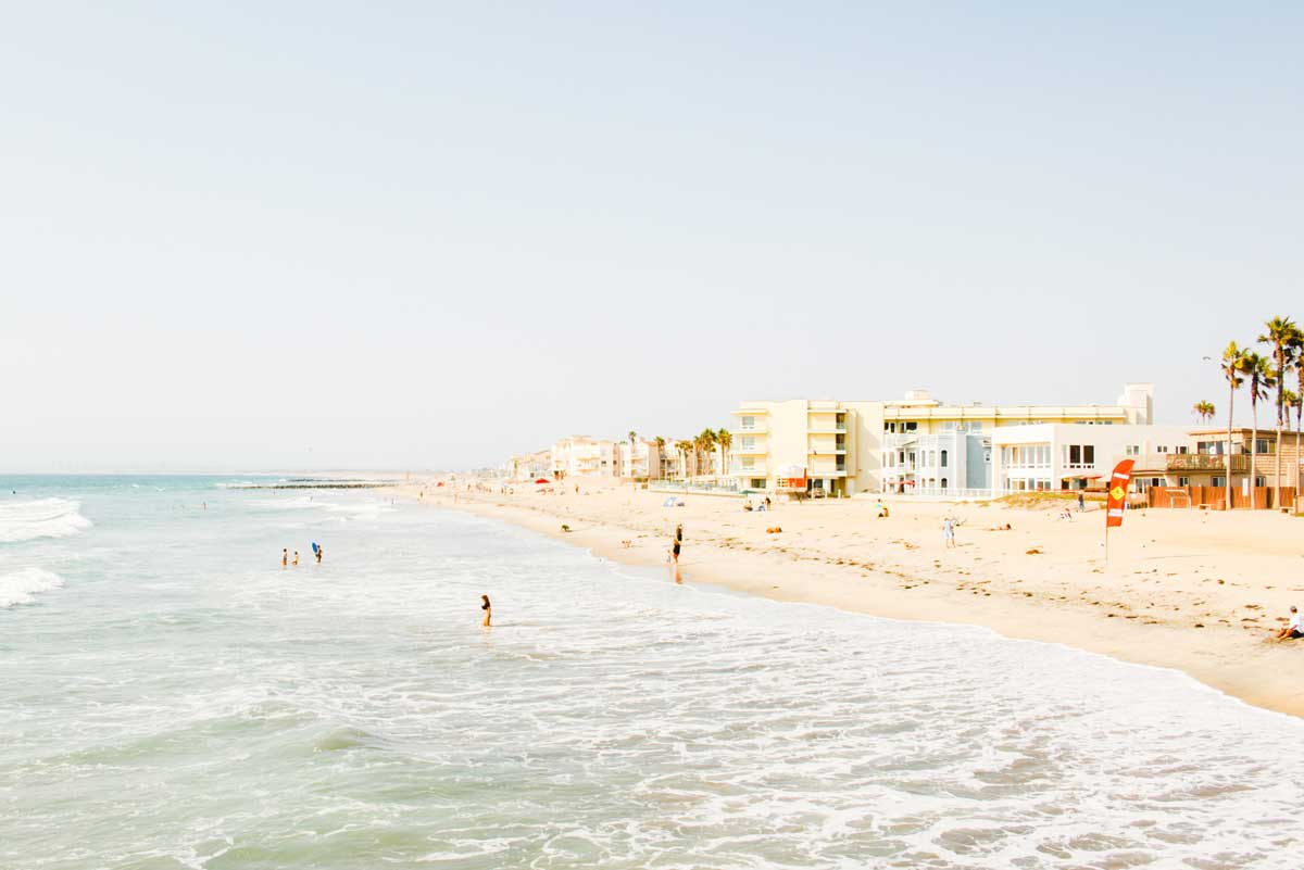 Beachfront holiday destination