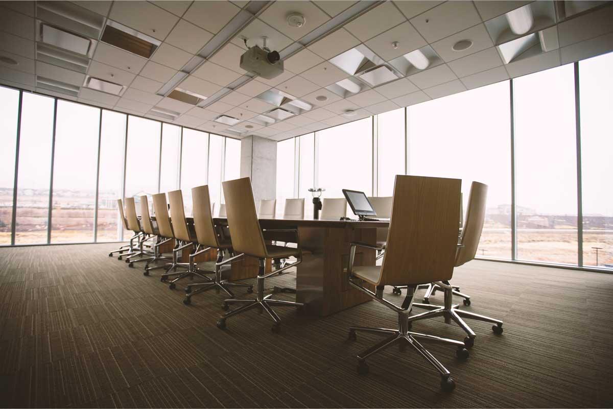 Boardroom in office