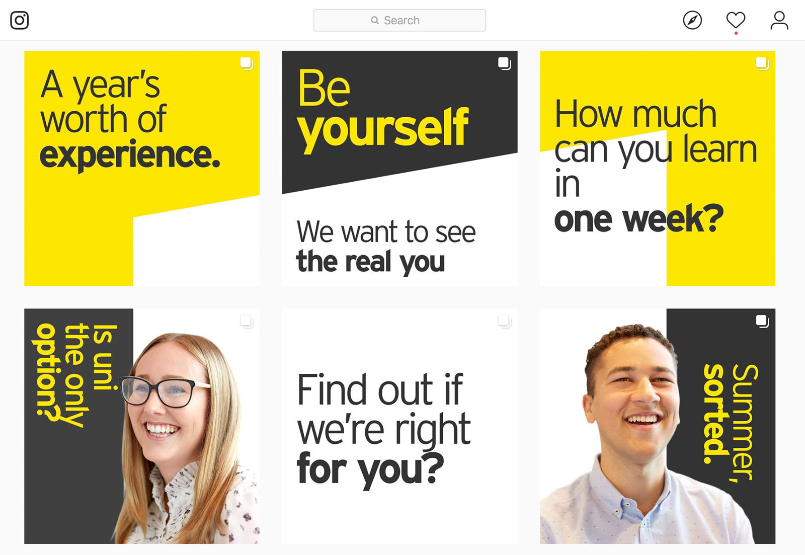 EY Employer Brand on Instagram