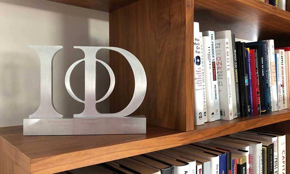Pinpoint IoD Award