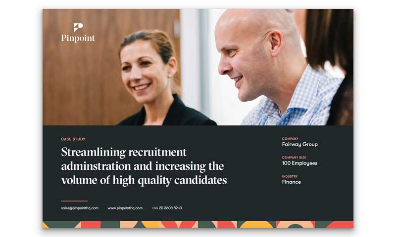 Fairway Group Recruitment Case Study Cover