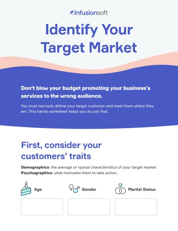 Worksheet: How to identify your target market