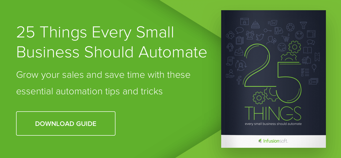 25 Things Every Small Business Should Automate - Download Now