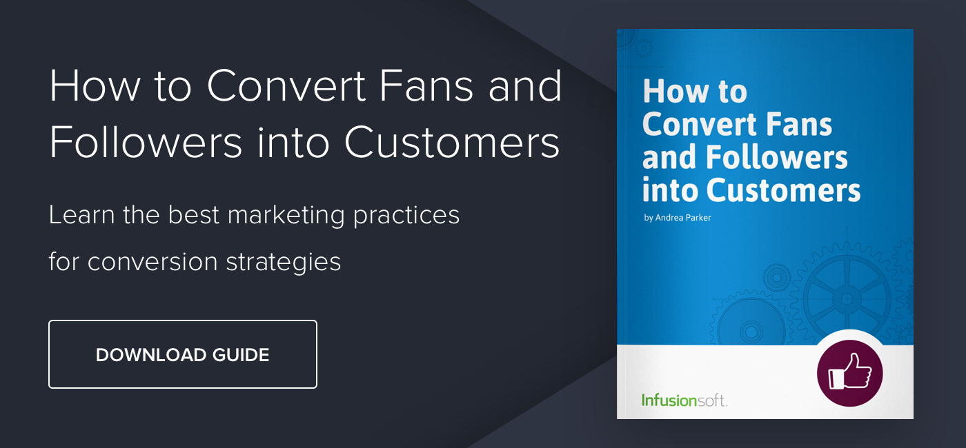 How to Convert Fans and Followers into Customers - Download Now