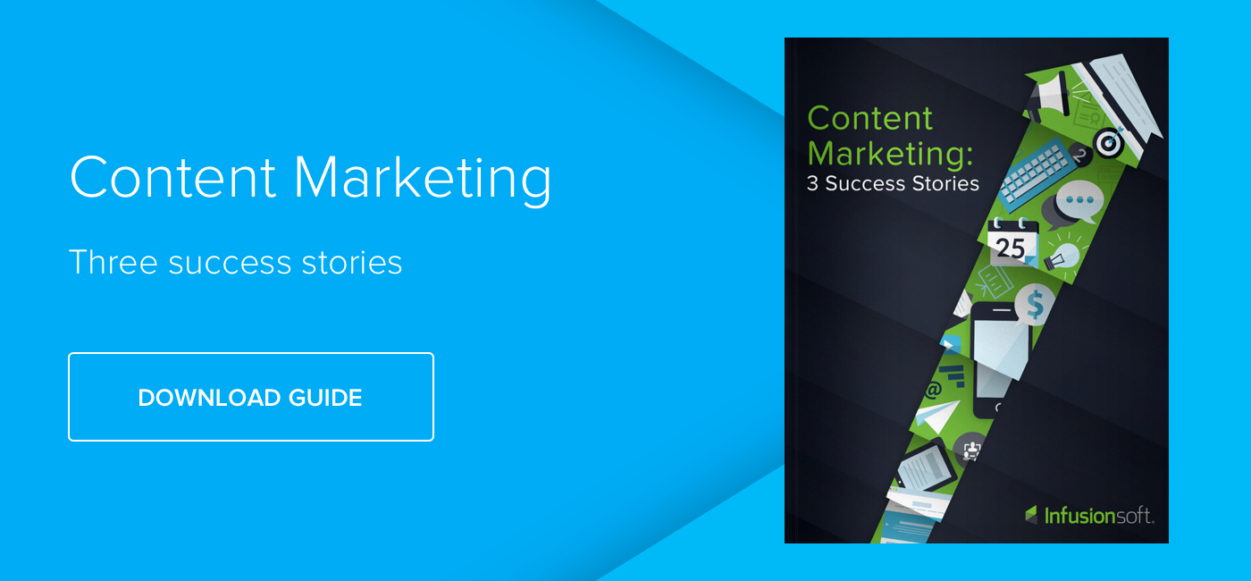 Content Marketing: Three Success Stories - Download Now