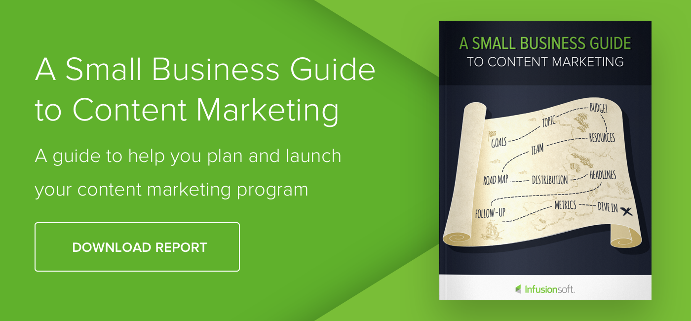 A Small Business Guide to Content Marketing - Download Now