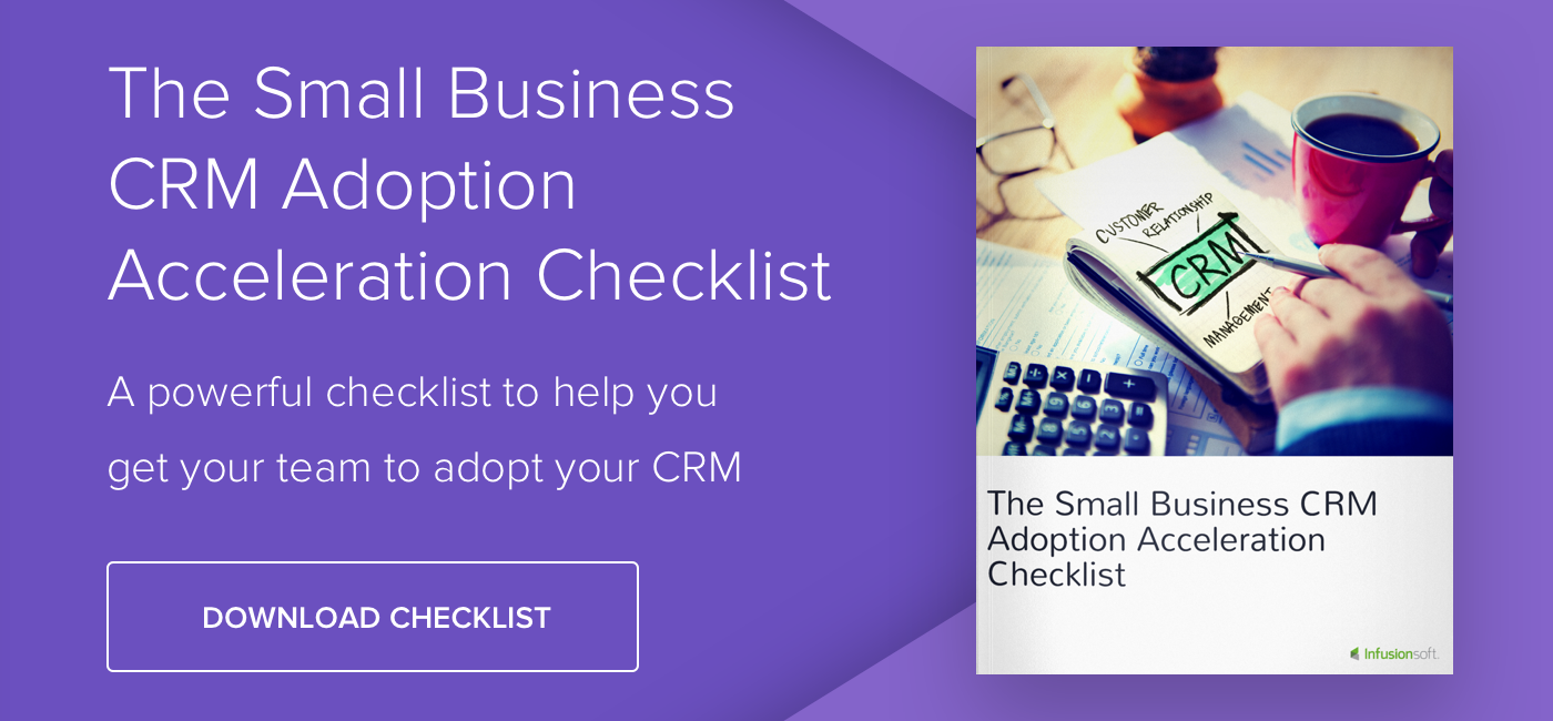 Small Business CRM Adoption Acceleration Checklist - Download Now