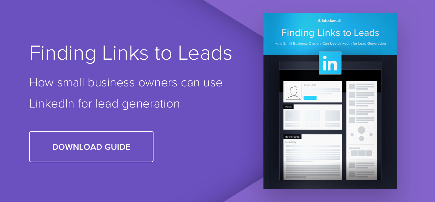 Finding Links to Leads: How Small Business Owners Can Use LinkedIn for Lead Generation - Download Now