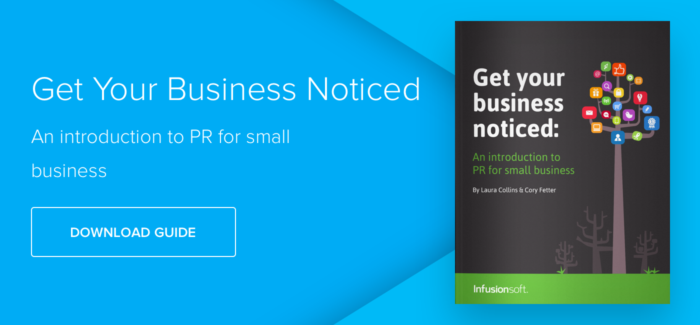 Get your Business noticed: PR Tactics - Download Now